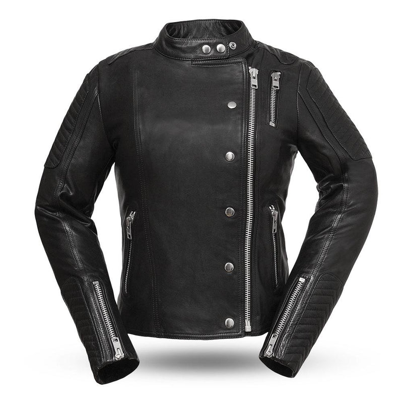 Warrior Princess - Women's Leather Motorcycle Jacket