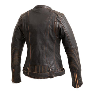 Electra - Women's Leather Motorcycle Jacket