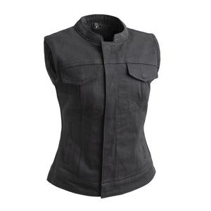 Lexy - Women's Motorcycle Twill Vest