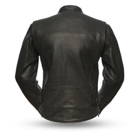 Turbine - Perforated Men's Leather Jacket