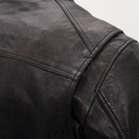 Hipster - Men's Motorcycle Leather Jacket