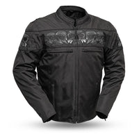 Immortal - Men's Codura Reflective Skull Jacket