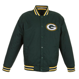 Green Bay Packers Poly-Twill Jacket – Green