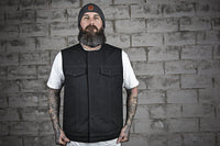 Fairfax - Men's Motorcycle Canvas Vest