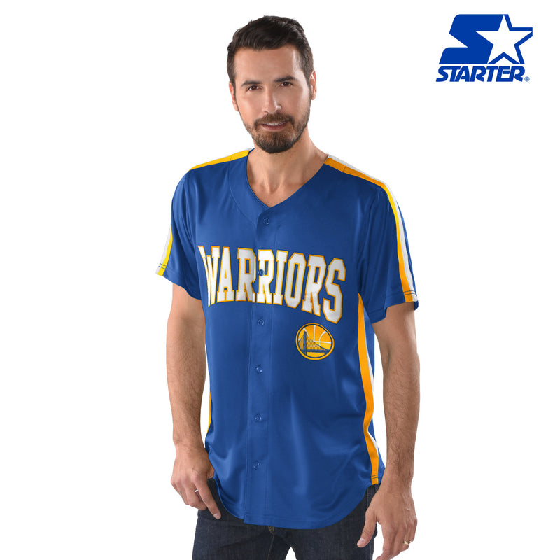 Official Starter Golden State Warriors Button-Up Jersey
