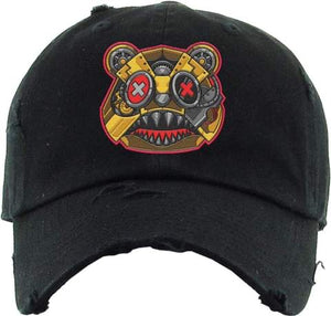 Killer Baws Bear Black Dad Hat