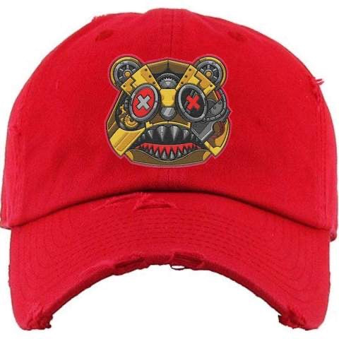 Killer Baws Bear Red Dad Hat
