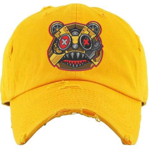 Killer Baws Bear Yellow Dad Hat