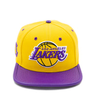 Los Angeles Lakers Pro Standard Team Leather Strap Back Cap