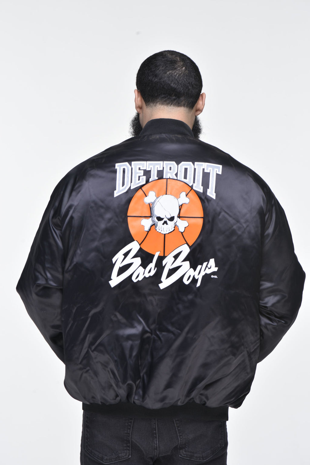 Men's Detroit Bad Boys Jacket – Black
