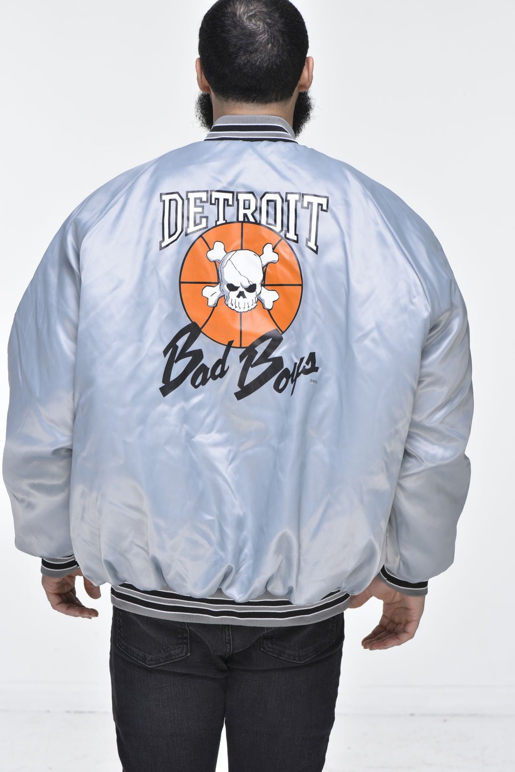 Men's Detroit Bad Boys Jacket – Grey
