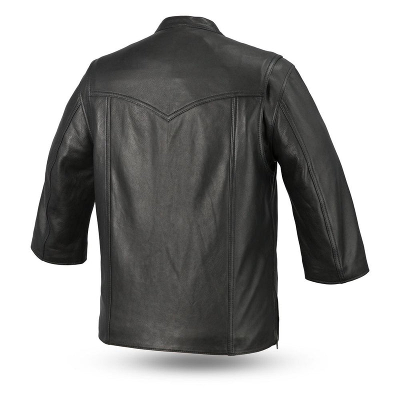 Mesa - Men's Motorcycle Leather Shirt