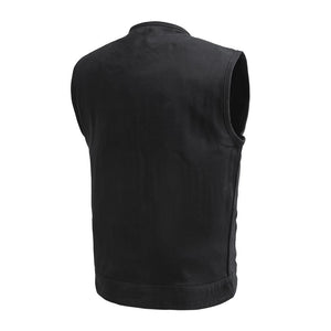 No Limit - Men's Motorcycle Twill Vest