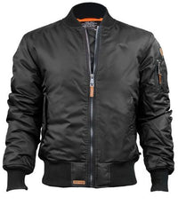 Top Gun® MA-1 Bomber Nylon Jacket - Black
