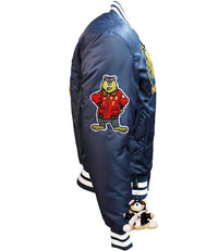 "Top Gun® MA-1 ""Champs"" Bomber Jacket - Navy"