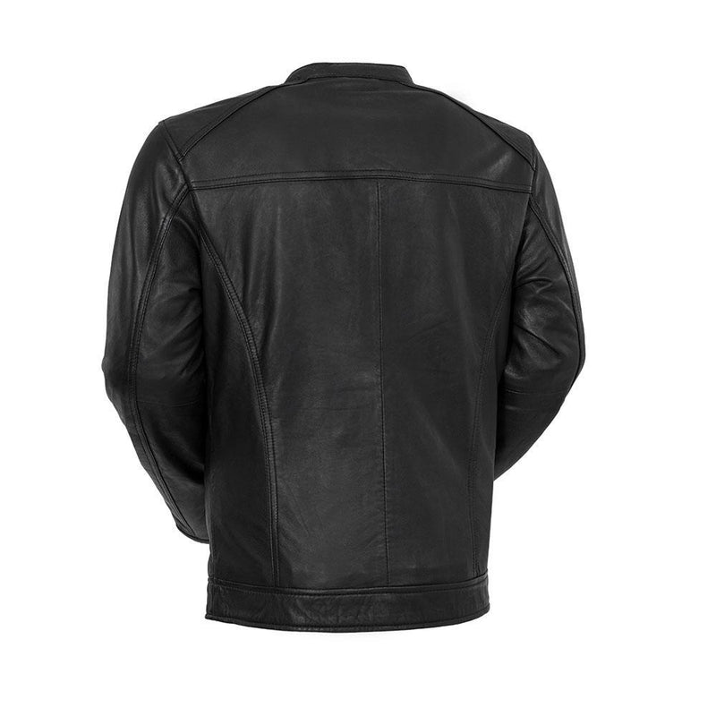 Iconoclast - Men's Fashion Leather Jacket (Black)