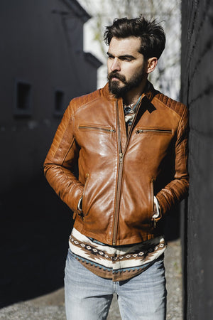 Zack - Men's Fashion Leather Jacket