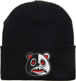 Yayo Baws Beanie - Black and White