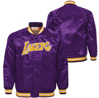 Officially licensed Kids NBA Los Angeles Lakers nylon jacket