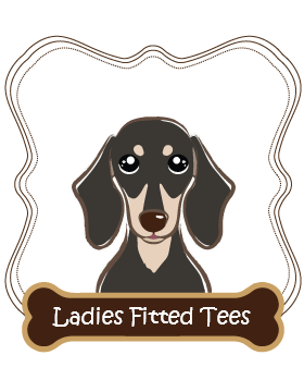 Dachshund Ladies Fitted Tees