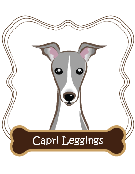 Italian Greyhound Capri Leggings