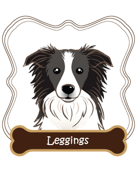 Border Collie Leggings