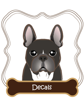 French Bulldog Decals