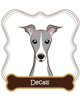 Italian Greyhound Decals