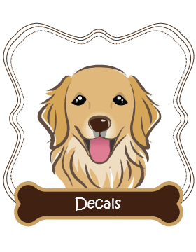 Golden Retriever Decals