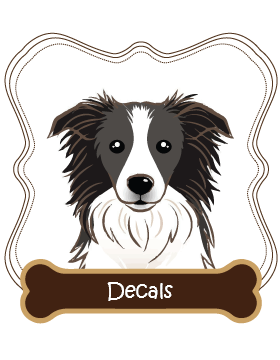 Border Collie Decals