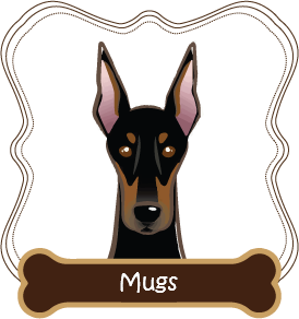 Doberman Pinscher Mugs