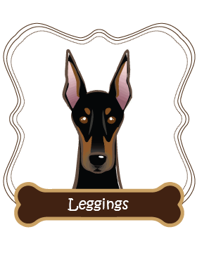 Doberman Pinscher Leggings