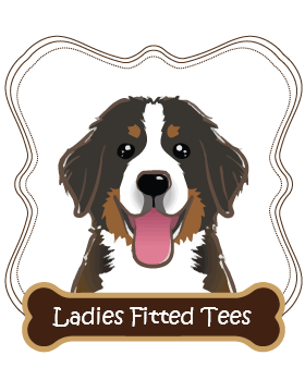 Bernese Mountain Dog Ladies Fitted Tees