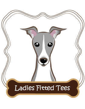 Italian Grey Hound Ladies Fitted Tees