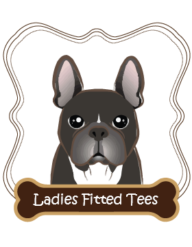 French Bulldog Ladies Fitted Tees
