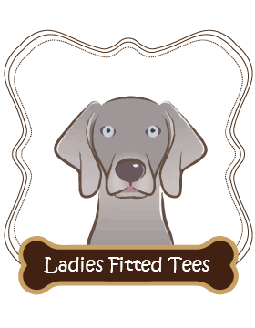 Weimaraner Ladies Fitted Tees