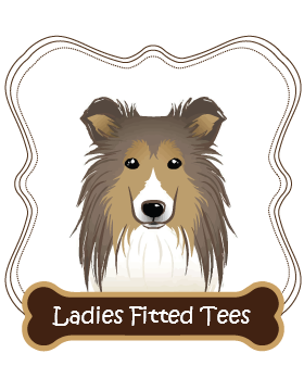 Shetland Sheepdog Ladies Fitted Tees
