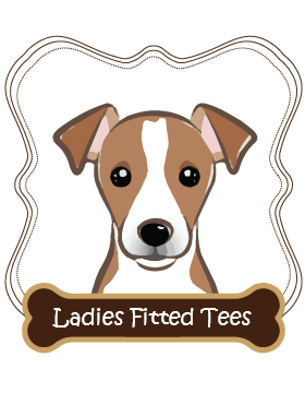 Jack Russell Ladies Fitted Tees
