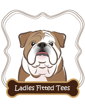 Bulldog Ladies Fitted Tees