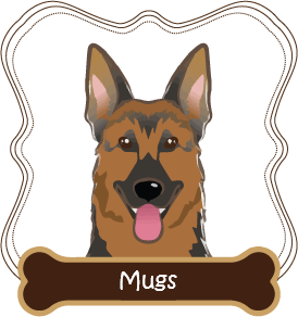 German Shepherd Mugs
