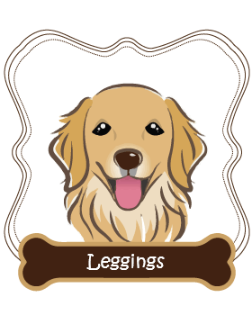 Golden Retriever Leggings