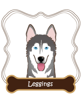 Siberian Husky Leggings