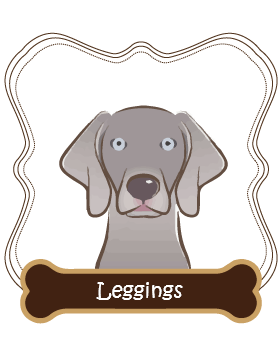 Weimaraner Leggings