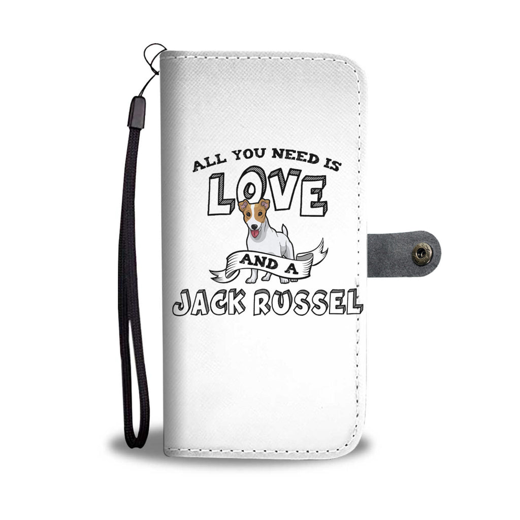 Jack Russell All You Need Is Love Phone Case