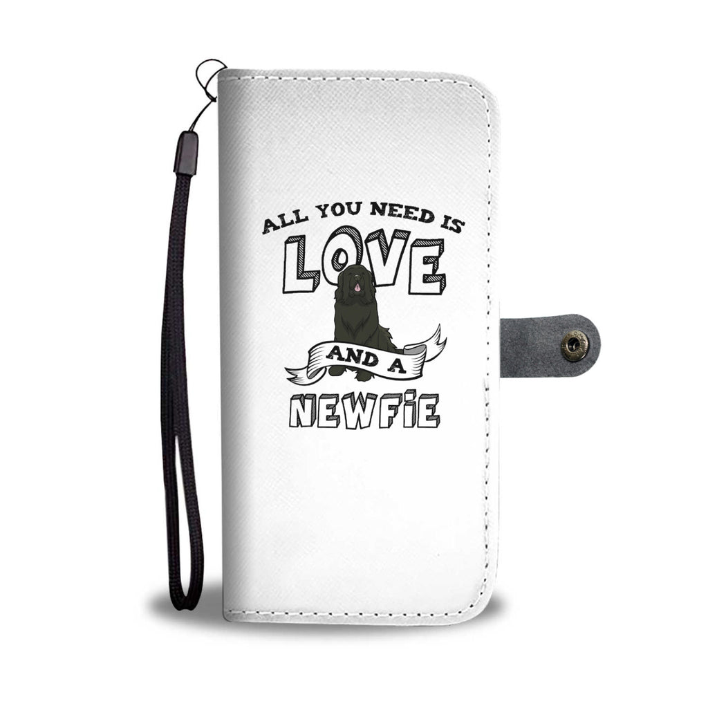 Newfie All You Need Is Love Phone Case