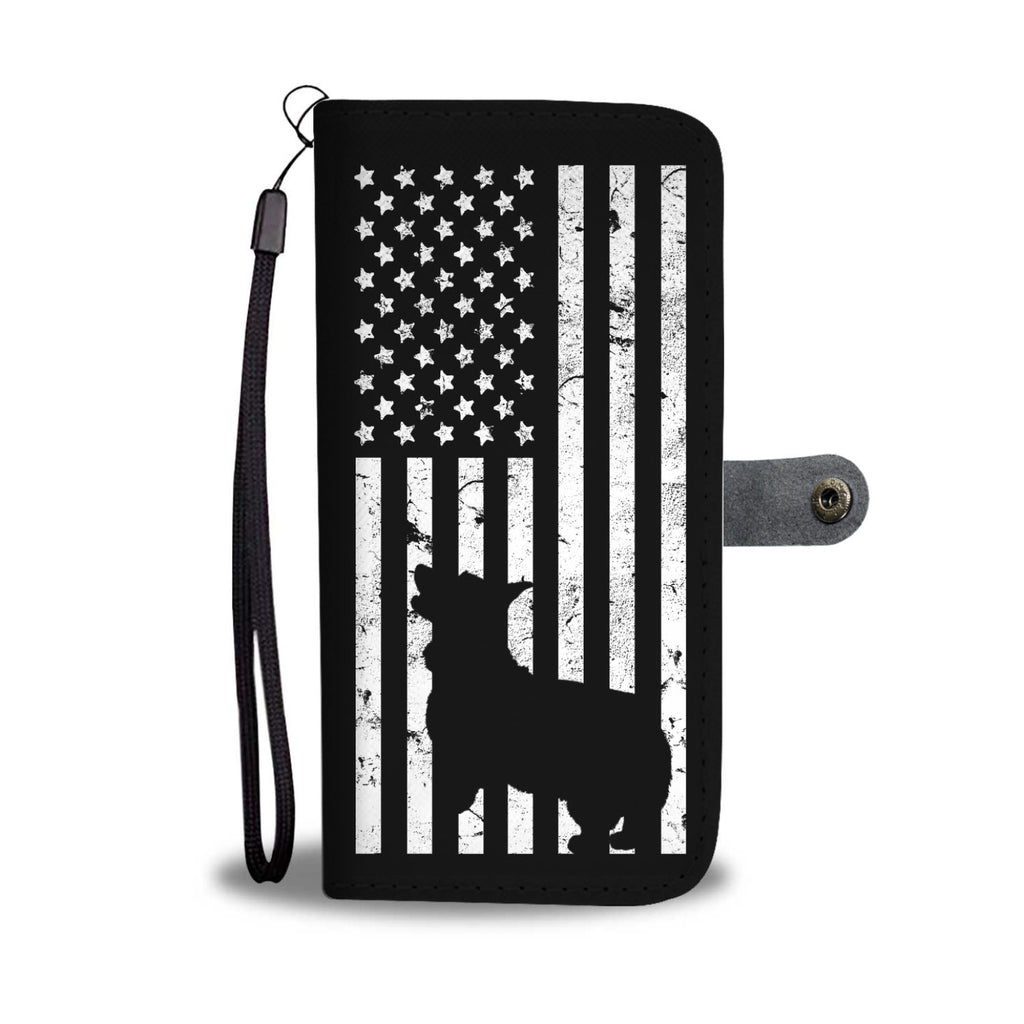 Welsh Corgi American Flag Flag Phone Case