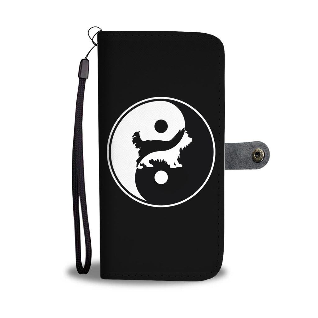 Yorkshire Terrier Yin Yang Phone Case