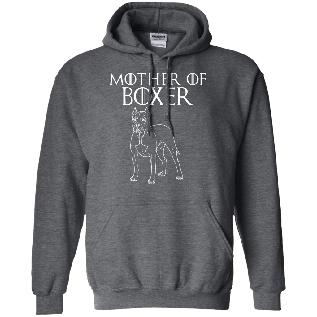 Mother Of Boxer Pullover Hoodie