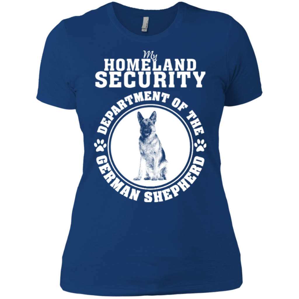 German Shepherd Security Fitted Tee