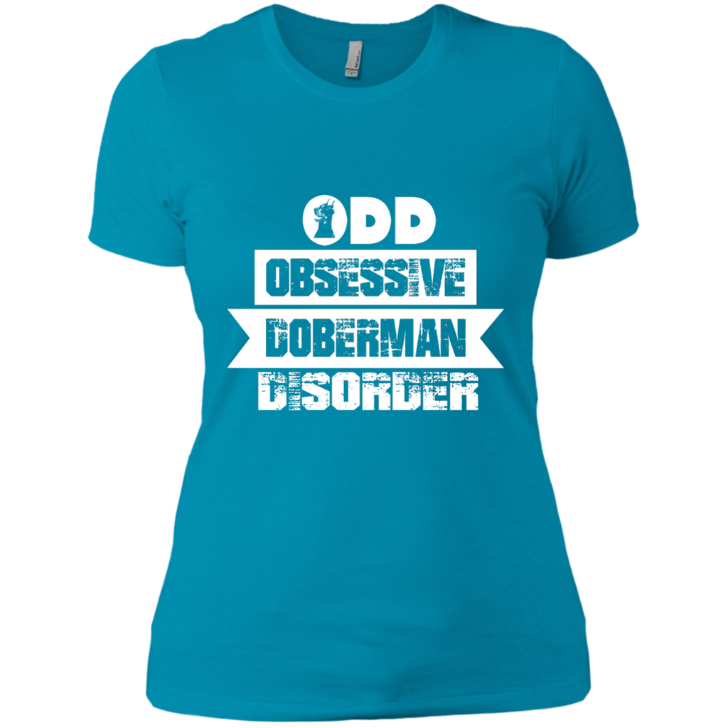 Obsessive Doberman Fitted Tee